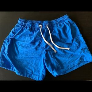 Men's size large H&M swim trucks.